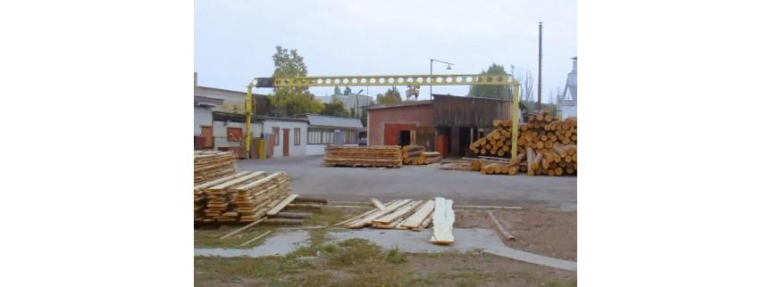 Продается деревообрабатывающее производство полного цикла: от кругляка до готовой мебели